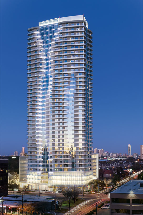 High-Rise Apartments Similar To The SkyHouse In Houston